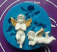Силиконовый молд ангелочки №5