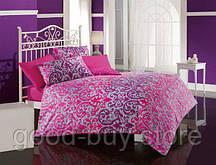 Постельное белье Cotton Box Сатин Bihter Fusya