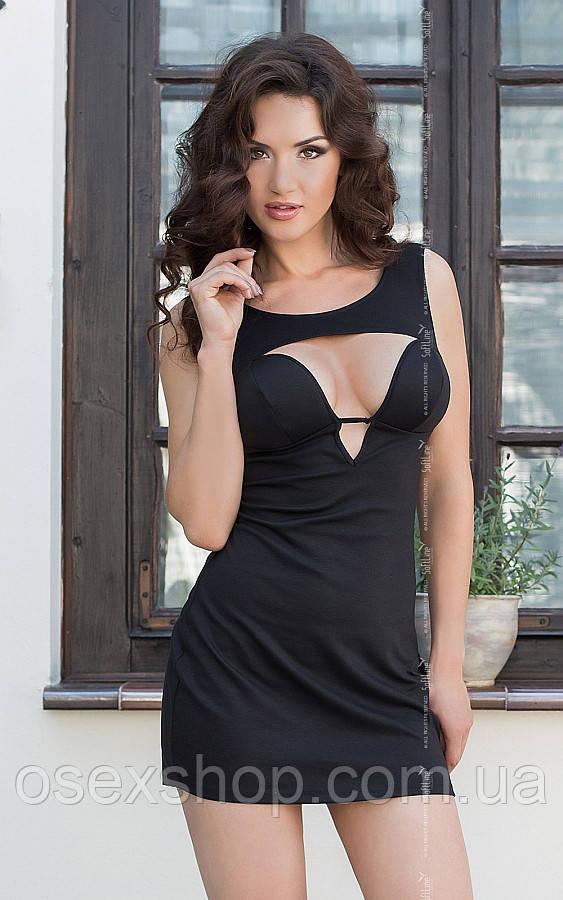 Платье - Dina, черное M