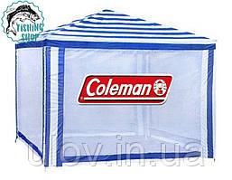 Тент ( дачный ) шатер садовый павильон Coleman 1904 (Польша)