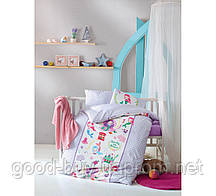 Постельное белье Cotton Box для новорожденных Deniz Kizi Lila