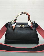 Сумка Kelly bag черная реплика, фото 1