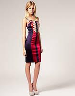 Платье вечернее, платье праздничное, платье молодежное красного цвета , фото 1