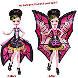 Кукла Монстер Хай Дракулаура с Крыльями Летучая Мышь Transformation Ghoul to Bat, фото 3
