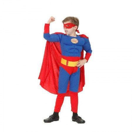 Маскарадный костюм Супермен Премиум (размер L)