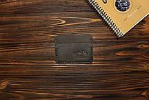 Картхолдер из кожи ручной работы VOILE ch3-brn, фото 2