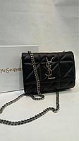 Женская сумка клатч натуральная кожа в стиле YSL