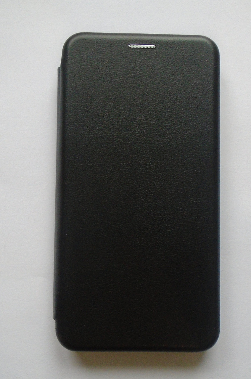 Кожаный оригинальный Чехол Чехол-книжка Xiaomi Redmi Note 4X black кожа