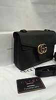 Женская сумка клатч натуральная кожа в стиле GUCCI