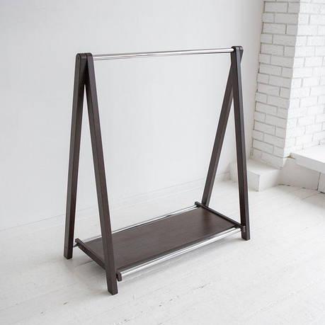 Стойка для одежды Модус 1П (дерево/металл), фото 2