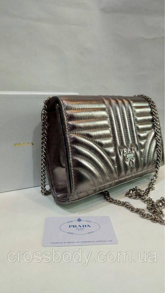 35cdfcbf8fdb Женская сумка клатч натуральная кожа в стиле PRADA: продажа, цена в ...