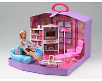 Мебель для куклы в чемодане Гостиная Gloria 2014HB, фото 1