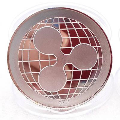 Монета сувенирная Ripple (xrp риппл) серебряная, фото 2
