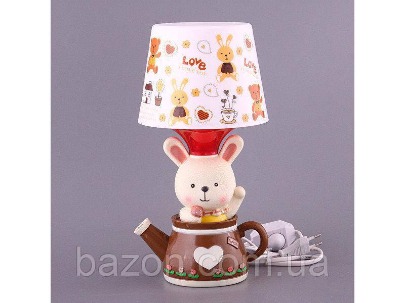 Светильник с абажуром Fashion Lamp Зайка 32 см