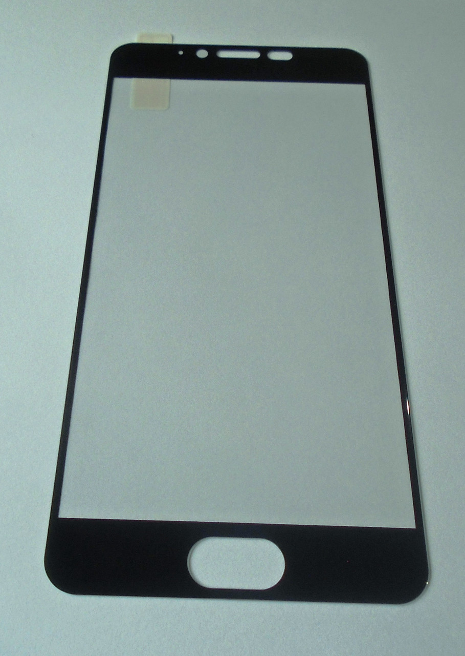 Защитное стекло Meizu M5 full Screen black