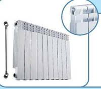 Секція біметалевого радіатора GEOTERM 500*80 мм (10 сек.)
