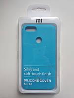 Чехол Silicone Cover Xiaomi Mi A1/Mi5X (Light blue), фото 1