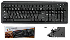 Клавиатура 2Е KS 102 Black (2E-KS102UB) USB