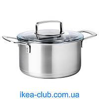 Казан с крышкой IKEA IKEA/365+ 702.567.52