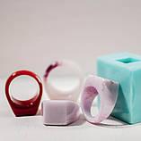 Силиконовый молд для эпоксидной смолы на кольцо, вертикальная заливка (18мм), фото 5