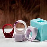 Силиконовый молд для эпоксидной смолы на кольцо, вертикальная заливка (18мм), фото 6