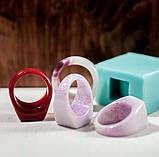 Силиконовый молд для эпоксидной смолы на кольцо, вертикальная заливка (18мм), фото 7