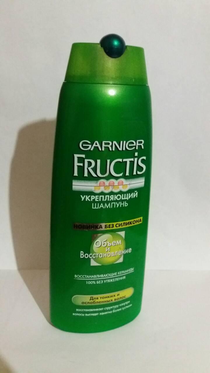Шампунь для волос Garnier Fructis Укрепляющий Объем