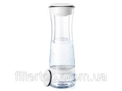 Эко бутылка Фильтр-бутылка для воды Fill and Serve mind white (teal)