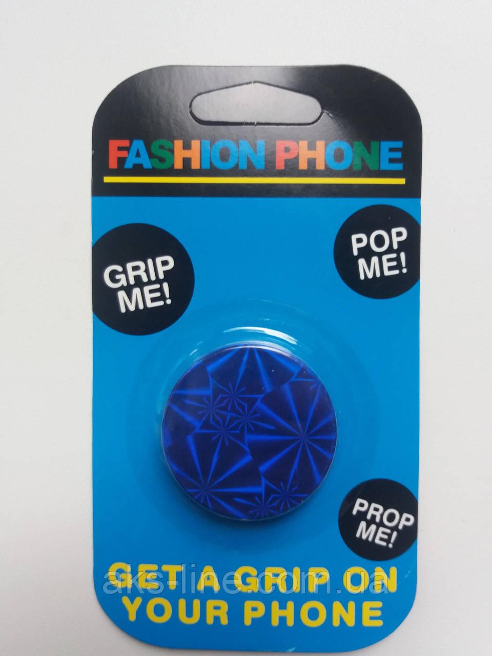 Держатель для смартфона PopSocket 3D (Blue), фото 1