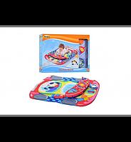 Развивающий коврик для младенца Автогонщик WinFun 0832