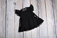 Фатиновое платье + боди, черное, размеры: 62, 68, 74, 80, 86, фото 1