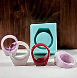 Силиконовый молд для эпоксидной смолы на кольцо, горизонтальная заливка (18мм), фото 3