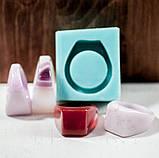 Силиконовый молд для эпоксидной смолы на кольцо, горизонтальная заливка (18мм), фото 6
