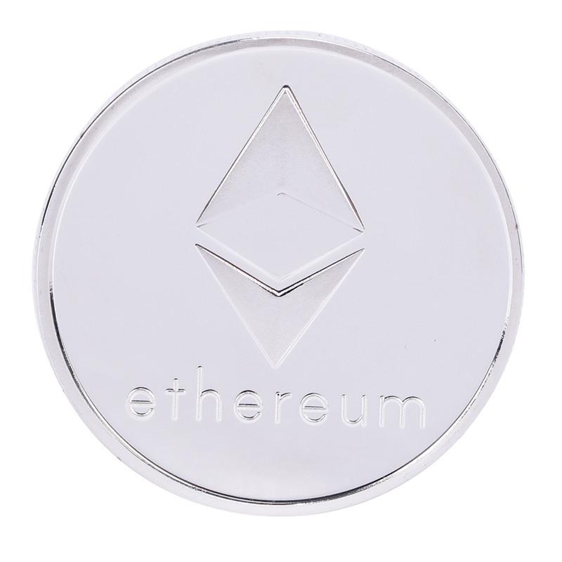 Сувенірна Монета срібна Ethereum