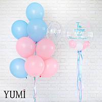 Оформление из воздушных шаров для девушки