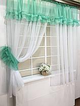"""Кухонные шторы """"Люсси"""" Тифани, фото 2"""