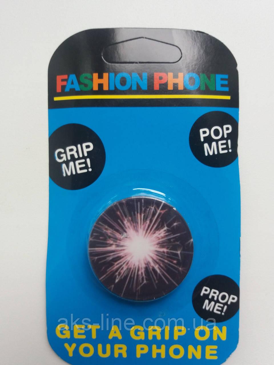 Держатель для смартфона PopSocket (Fire), фото 1