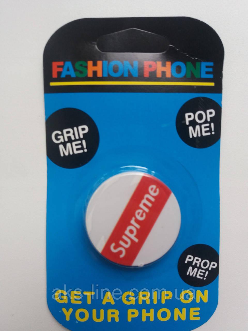 Держатель для смартфона PopSocket (Supreme), фото 1