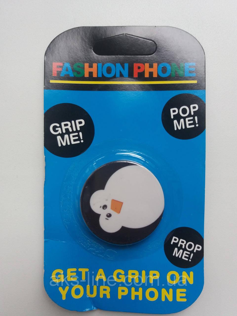Держатель для смартфона PopSocket (Penguin), фото 1