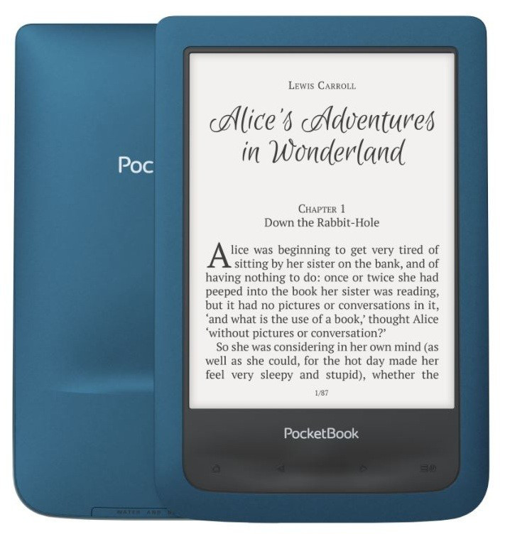 Читалка для книг PocketBOOK 641 Aqua Dark Blue (PB641-A-CIS), электрон