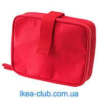 Косметичка IKEA ФОРФИНА 302.882.79 красный