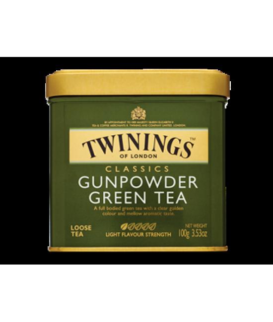 Чай Twinings Gunpovder Green Tea  ж/б 100гр