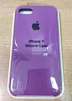 Силиконовый чехол Apple Silicone Case IPHONE 7/8 (Ultra Violet)