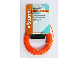Леска для триммера 15 m круг Sturm 1,6 mm GT3535-1.6-0