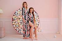Комплект мама+дочка пляжные туники, фото 1