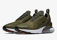 Кроссовки Мужские Nike Air Max 270 Flyknit Olive, фото 1