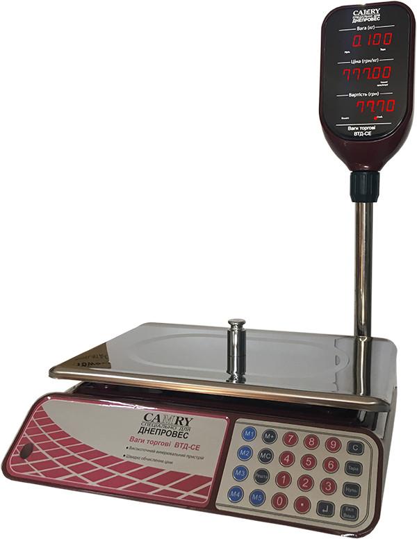 Весы торговые Camry ВТД-СЕ (30 кг)