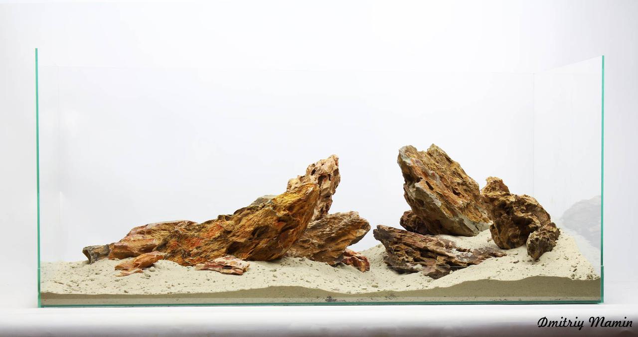 Композиция для аквариума из Дракона K87