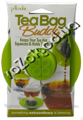 Силиконовая крышка  для заваривания и отжима чайных пакетиков PRIMULA Tea Bag Buddy, фото 1