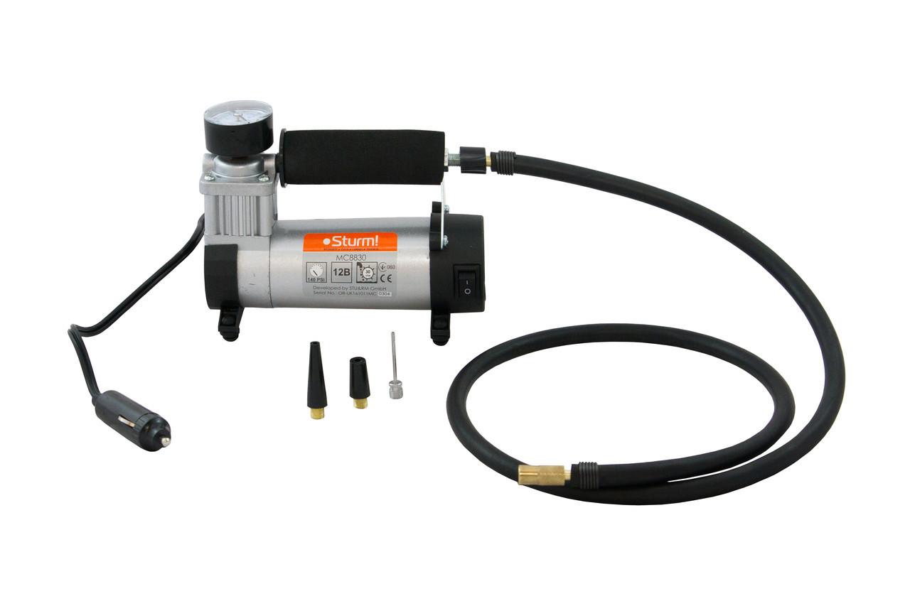 Воздушный автомобильный компрессор (30 л/мин) Sturm MC8830